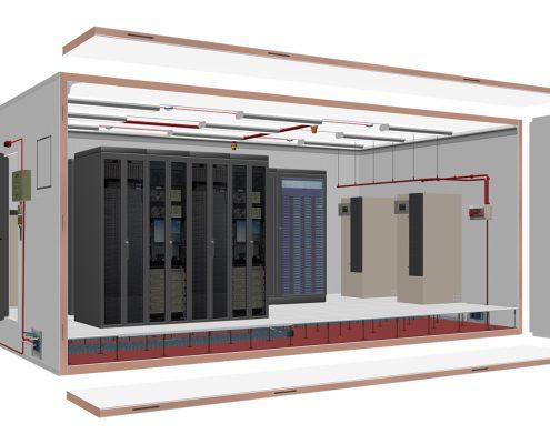Data og Serverrom Innendørs